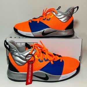 NEW Nike PG 3 Paul George NASA Orange Basketball